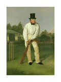 Portrait of George Parr (1826-91), c.1850 Giclee Print by William III Bromley