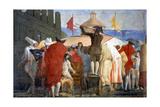 The New World, 1791-97 Giclée-tryk af Giandomenico Tiepolo