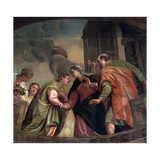 The Visitation Giclee Print by Paolo Veronese