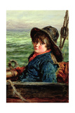 Young Fisher Boy, c.1862 Giclee Print by William McTaggart