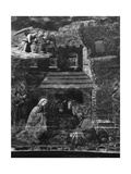 The Nativity, One of the Scenes from the Fresco Cycle of the Life of the Virgin in the Apse of… Giclee Print by Fra Filippo Lippi