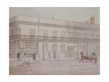 Assembly Rooms and Williams' Library, Cheltenham, 1821 Giclee Print by Daniel Thomas Egerton