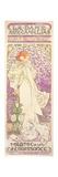 Sarah Bernhardt (1844-1923), La Dame Aux Camelias, at the Theatre De La Renaissance, 1896 Giclee Print by Alphonse Marie Mucha