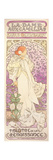 Sarah Bernhardt (1844-1923), La Dame Aux Camelias, at the Theatre De La Renaissance, 1896 Giclee Print by Alphonse Mucha