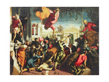The Miracle of St. Mark Freeing a Slave, 1548 Giclee Print by Jacopo Robusti Tintoretto