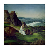 St. Jerome in a Landscape Giclee Print by Joachim Patenier or Patinir