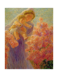 Mother and Child Giclee Print by Gaetano Previati