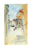 Street Scene, c.1888 Giclee Print by James Abbott McNeill Whistler