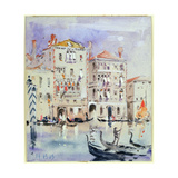 Palazzo Dario, Venice Giclee Print by Hercules Brabazon Brabazon