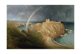 Dunnottar Castle, 1867 Giclee Print by Waller Hugh Paton