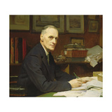 Sir Francis Eden Lacey (1859-1946) as Secretary of the Mcc, 1928 Giclee Print by George Spencer Watson