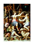 Allegory of Justice Giclee Print by Giorgio Vasari