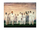 The All-England Eleven, 1847 Giclee Print by  Felix