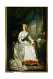 Queen Victoria, 1843 Giclee Print by Sir Francis Grant
