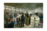The Departure, Gare D'Austerlitz, Paris, 1883 Giclee Print by Paul Louis Delance