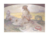 Song of Bohemia, c.1930 Giclee Print by Alphonse Mucha
