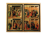 Maesta: Eleven Scenes from the Passion, 1308-11 (Detail) Giclee Print by Duccio Di buoninsegna