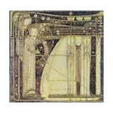 The Opera of the Wind, c.1902 Gicléetryck av Margaret MacDonald