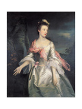 Portrait of Lucy Smith Giclee Print by Sir Joshua Reynolds