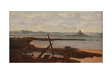 St Michael's Mount from Newlyn Battery Giclee Print by Ralph Todd