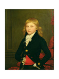 Portrait of Lord Frederick Beauclerk, President of the Marylebone Cricket Club in 1826 Giclee Print by Sir William Beechey