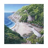 Church Ope Cove, 1999 Giclee Print by Liz Wright