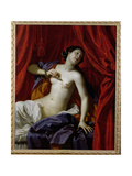 The Death of Cleopatra Giclee Print by Bartolomeo Gennari