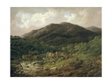 Backbarrow Cotton Mill Giclee Print by Charles Towne