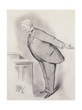 Lord Rosebery: 'Far Be it from Me!' Giclee Print by Edward Tennyson Reed