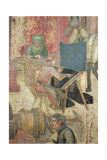 Effects of Good Government in the City, Detail of Weavers, 1338-40 Giclee Print by Ambrogio Lorenzetti