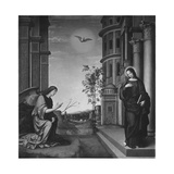 The Annunciation, c.1502 Giclee Print by Il Francia