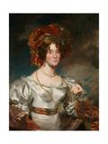 Regency Lady, 1828 Giclee Print by Henry Wyatt