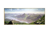 South-West View from Ben Lomond Giclee Print by John Knox