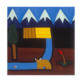 In the Mountains Giclee Print by Cristina Rodriguez