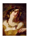 A Bacchante Giclee Print by William Etty