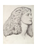 Annie Miller Giclee Print by Dante Charles Gabriel Rossetti