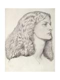 Annie Miller Giclee Print by Dante Gabriel Rossetti