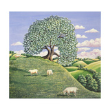 The Hawthorn Tree, 1981 Giclee Print by Liz Wright