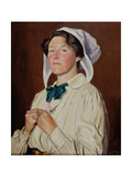 Janet Elisabeth Ashbee, 1910 Giclee Print by William Strang