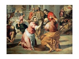 The Washing of the Feet Giclee Print by  Palma Il Giovane