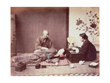 Japanese Masseur, c.1890 Giclee Print by Felice Beato