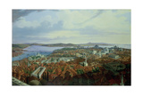 Panorama of Constantinople from the Suleymaniye Camii, 1844 Giclee Print by Hubert Sattler