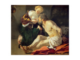 Roman Charity: Cimon and Pero Giclee Print by Theodore van, called Dirk Baburen