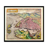 View of Marseille, 1574 Giclee Print