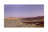 Ruins of Palmyra, 1839 Giclee Print by Charles Theodore Frere