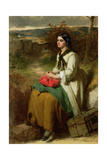 Lucy's Flittin', 1864 Giclee Print by Thomas Faed