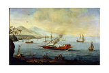 Galleon Laid Up in Port Giclee Print by Pierre Puget