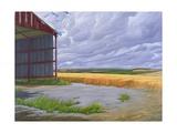 Empty Barn Near Salisbury Plain, 2008 Giclee Print by Peter Breeden