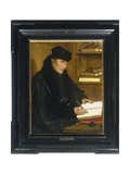 Portrait of Erasmus of Rotterdam Giclee Print by Jan Massys or Metsys