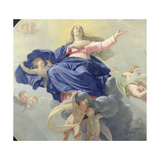 The Assumption of the Virgin, c.1656 (Detail) Giclee Print by Philippe De Champaigne